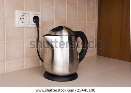 Brilliant kettle in the kitchen environment 2