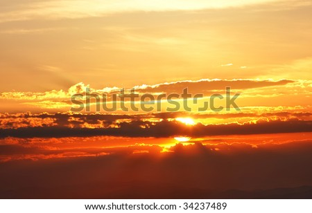 brilliant sunrise - this file is gorgeous in large size looks great as desktop background