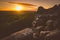 Brimham Rocks Sunset, North Yorkshire, Yorkshire Dales, Nidderdale