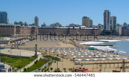 Shutterstock Bristol Beach, Mar del Plata, Buenos Aires, Argentina