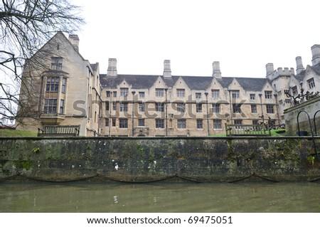 British building in cambridge