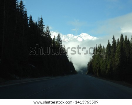 British Columbia Mountains Forests Roads #1413963509