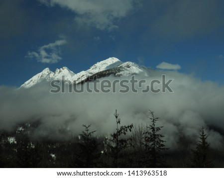 British Columbia Mountains Forests Roads #1413963518