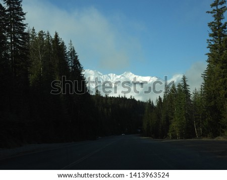British Columbia Mountains Forests Roads #1413963524