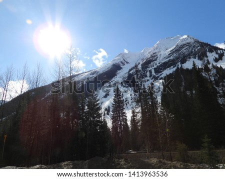 British Columbia Mountains Forests Roads #1413963536
