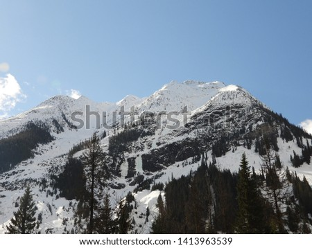 British Columbia Mountains Forests Roads #1413963539