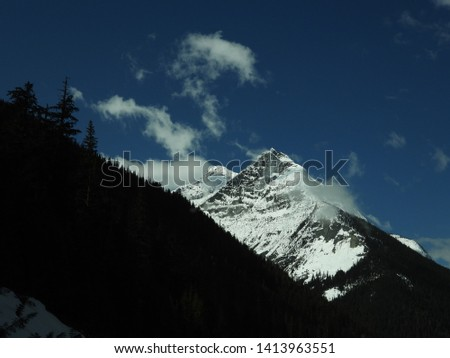 British Columbia Mountains Forests Roads #1413963551