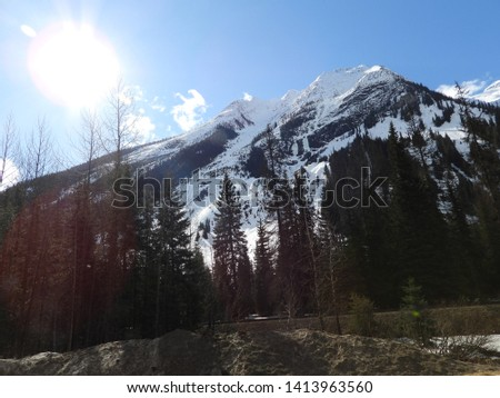 British Columbia Mountains Forests Roads #1413963560