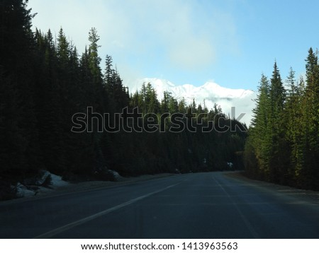 British Columbia Mountains Forests Roads #1413963563