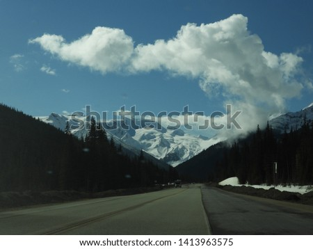 British Columbia Mountains Forests Roads #1413963575