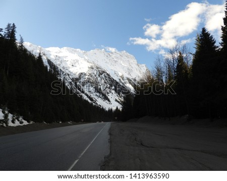 British Columbia Mountains Forests Roads #1413963590
