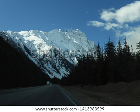 British Columbia Mountains Forests Roads #1413963599