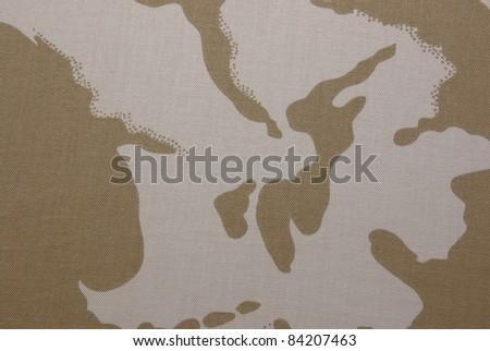 British desert camouflage
