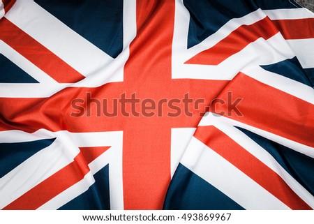 British flag on grey background #493869967