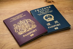 British National Oversea (BNO) Passport and Hong Kong Special Administrative Region (HKSAR) Passport