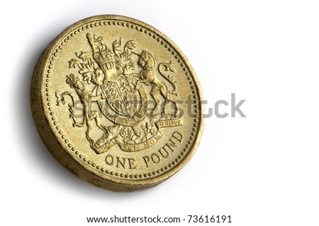 British 1 pound coin