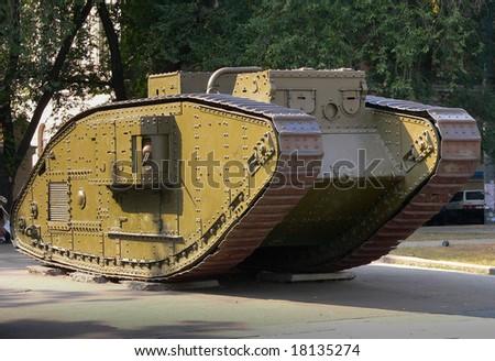 British Tank From World War i