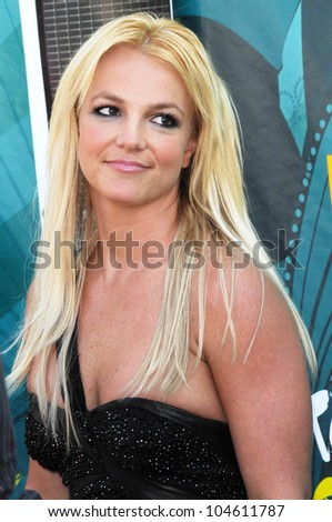 Britney Spears at the Teen Choice Awards 2009. Gibson Amphitheatre, Universal City, CA. 08-09-09