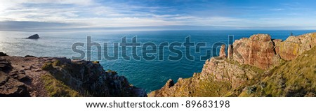 Brittany seascape, panorama