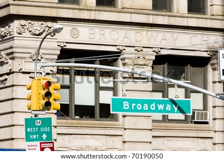 Broadway, Manhattan, New York City, USA