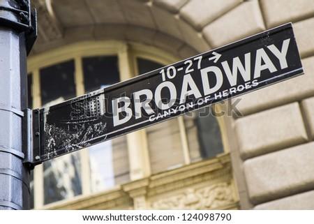 Broadway Sign #124098790
