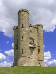 broadway tower the costwolds worcestershire, england uk