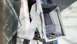 Broken Cash machine