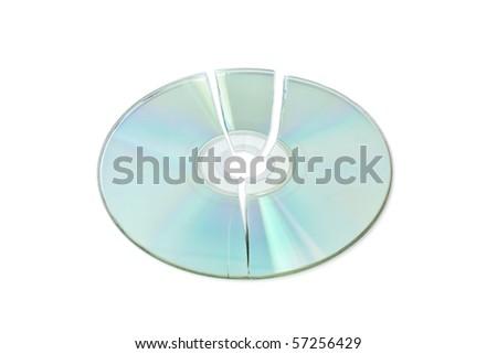 broken cd