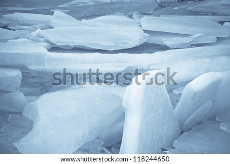 Broken Chunks of Ice
