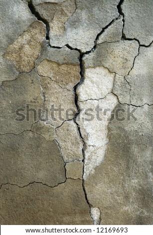 Broken Concrete background - stock photo