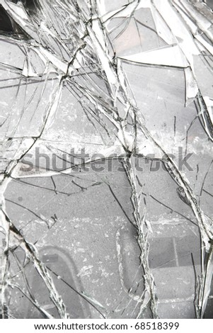 Broken Glass background.