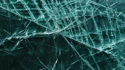 broken glass texture as background