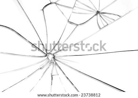 broken glass wallpaper. stock photo : Broken glass