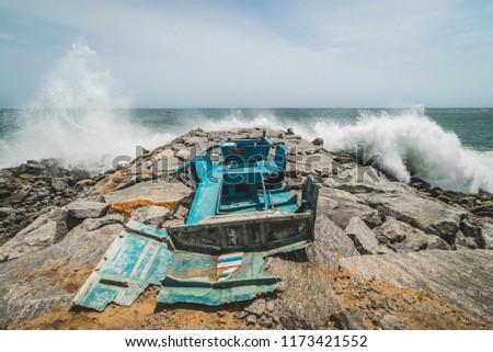 Broken Homes after Tsunami, India