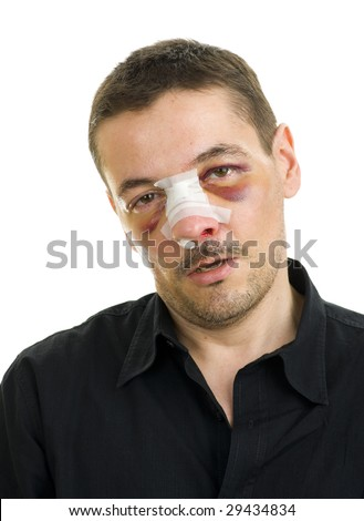 how to break a nose