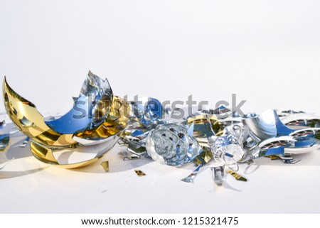 Broken red background glass Images and Stock Photos - Page