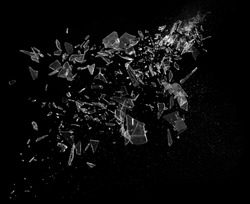 Broken Smashed Glass