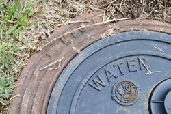 Broken water meter