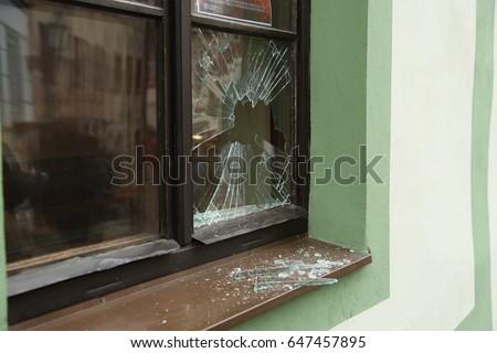 Broken window #647457895
