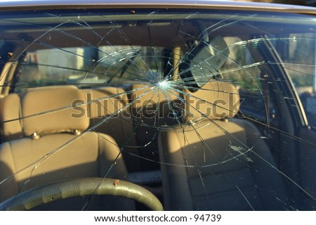 Broken Windshield, Exterior