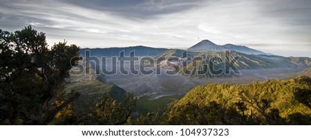 Bromo volcano valley