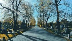 Brompton cemetery in London