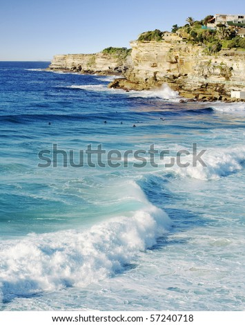 Bronte beach in Sydney Australia, near Bondi