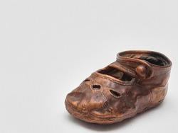 Bronze Baby Shoe very Vintage