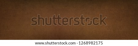 Bronze color painted metal texture panorama. Aged metallic wide panoramic surface. Retro vintage roomy background #1268982175