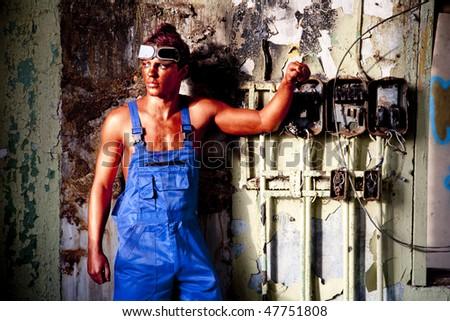 Bronze electrician
