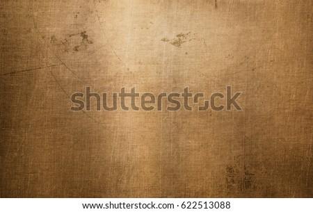 Bronze or copper metal texture