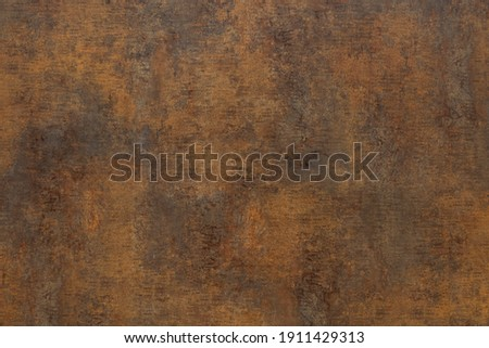 Bronze texture, brass metal plate as background or design element Foto d'archivio ©