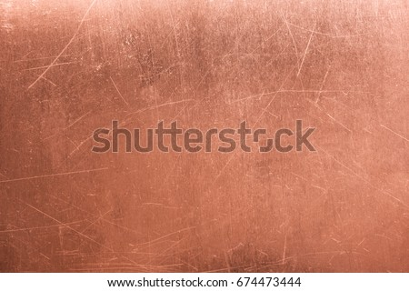 Bronze texture, metal plate as background or element for design #674473444