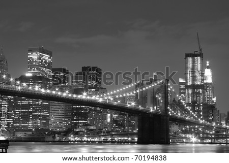 new york skyline black and white. 2011 new york skyline